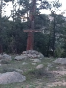 Cross in Outdoor Chapel, Estes Pk, CO