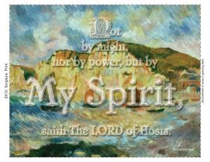 ZECHARIAH 4 verse 6 (painting 086)